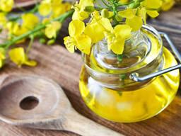 Unrefined rapeseed oil