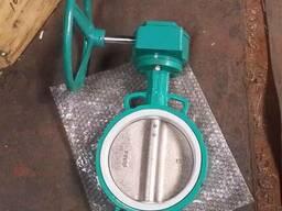 Затвор дисковый межфланцевый с уплотнением PTFE - фото 1