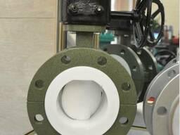 Затвор дисковый поворотный фланцевый футерованный F4 - фото 1