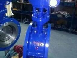 Затвор дисковый поворотный односторонний стальной Ру10 Ду200