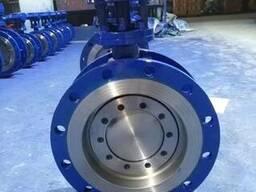 Затвор дисковый поворотный с тройным эксцентриситетом Ду250