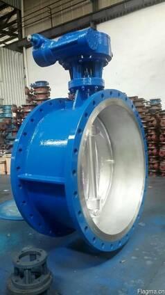 Затвор дисковый поворотный стальной Ру16 Ду1200