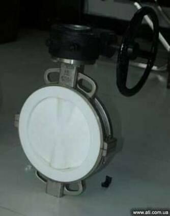 ЗДМ-затвор дисковый межфланцевый футерованный